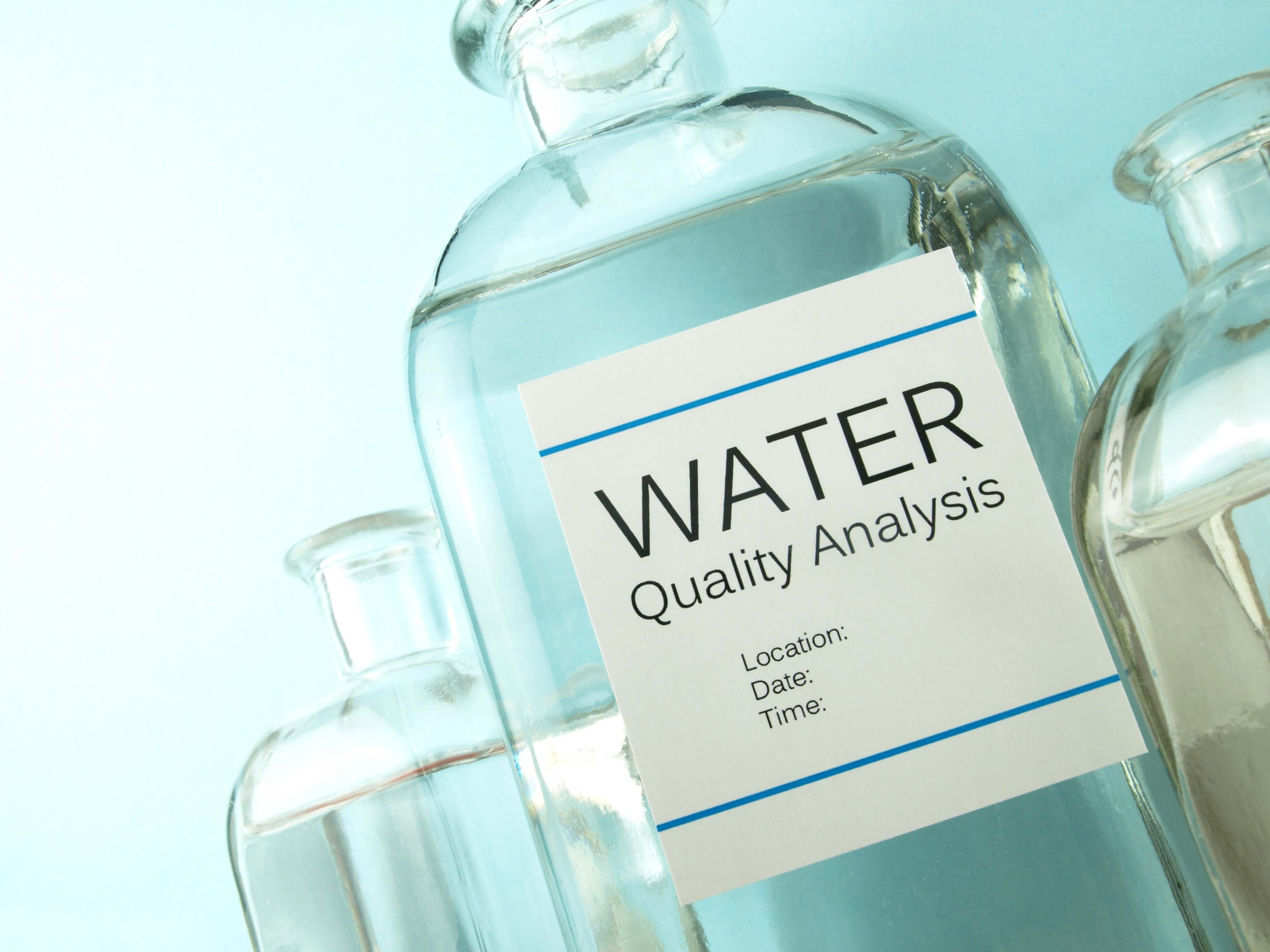 water analysis 1 alkalinity: this is the sum of components (mainly bicarbonate, carbonate, and hydroxide) in the water that tend to elevate the ph of the water above 45these factors are characteristic of the source of water and the natural processes taking place at any given time.