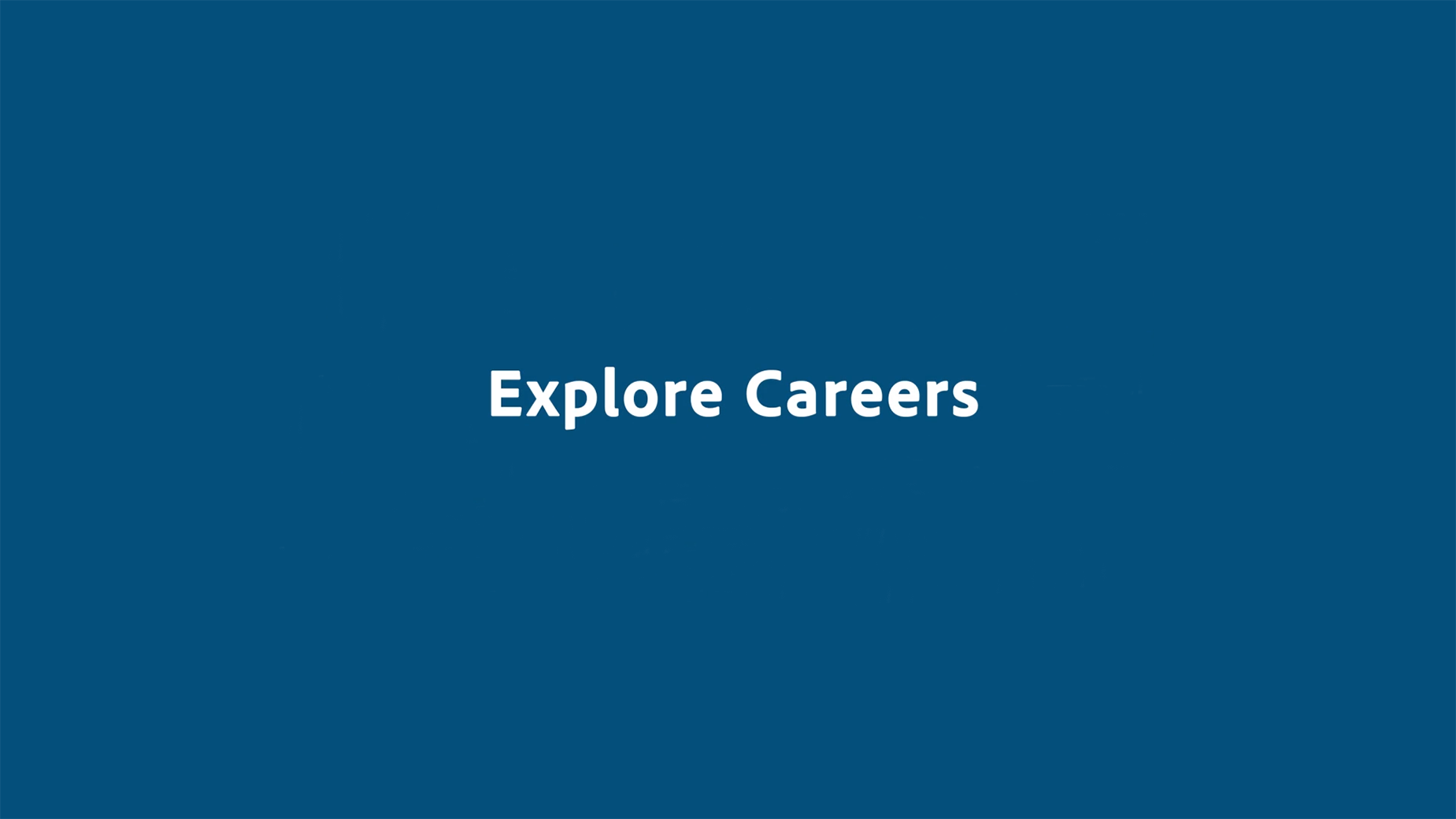Discover a range of career options.